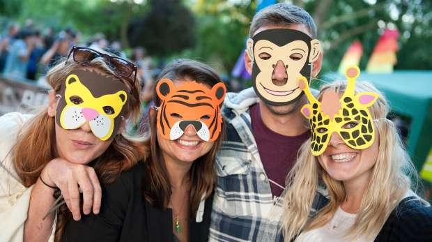 Visitors at Zoo Lates