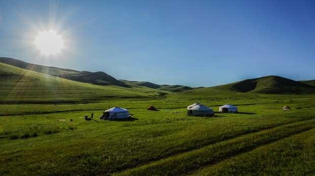 ZSL Mongolia Summer Field Course 2015 Camp Site
