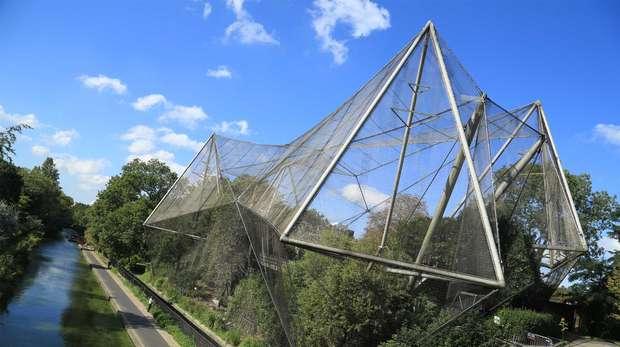 Snowdon Aviary, ZSL London Zoo