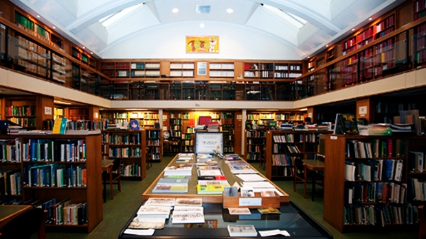 Lead image of the library