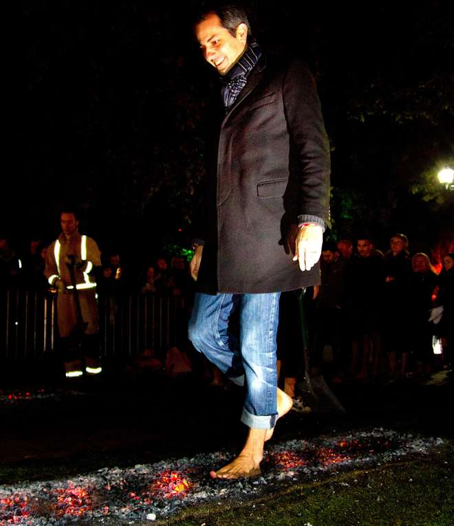 London Zoo Firewalk